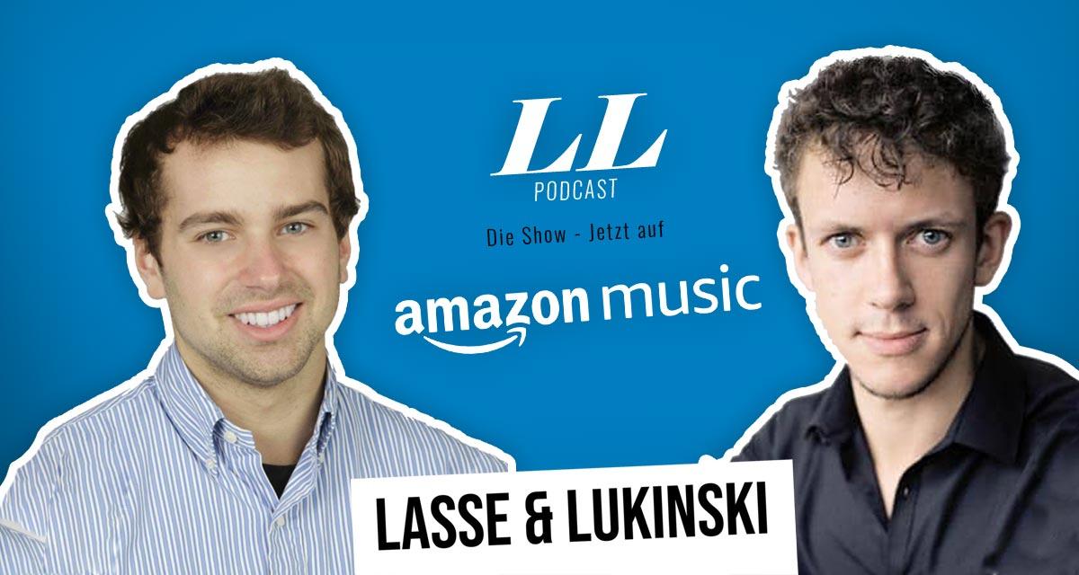 亚马逊音乐:Lasse & Lukinski表演现在也在亚马逊上播放了!